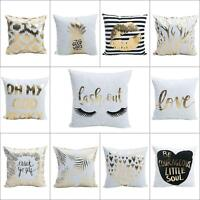Home Throw Pillow Case Cover Bed Sofa Couch Car Waist Cushion Decor Gift A5R1