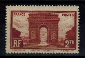 "(a35) timbre France n° 258 neuf* année 1929 ""MH"""