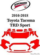 3M Scotchgard Paint Protection Film Clear Kit 2016 2017 2018 Toyota Tacoma Sport