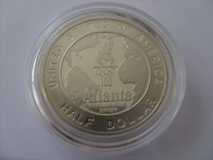 HALF DOLLAR 1995 USA Atlanta Olympics - Basketball  RARE !!!!