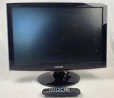 """Samsung T220HD SyncMaster 22"""" LCD HDTV 720p 1680x1050 HDMI DVI VGA w/Remote"""