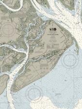 Heritage Puzzle Hilton Head Nautical Chart Map - 550 Piece Jigsaw Puzzle. Measur
