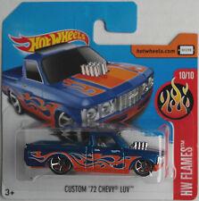 Hot Wheels - ´72 / 1972 Chevy LUV Custom Pickup blaumet. mit Flammen Neu/OVP