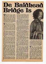 Yabby You Carl Dawkins Culture Ranking Joe Reggae Interview Black Music Magazine