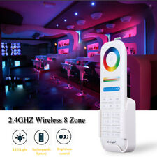 Milight 2.4G RF Wireless LED Controller 8-Zone Area RGB+CCT Smart Touch Remote