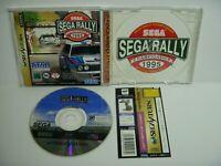 Sega Rally Championship 1995 Sega Saturn Japan Game w/Obi