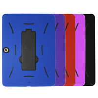 "Heavy Duty Hybrid Armor Case Cover for Samsung Galaxy Tab 3 10.1"" P5200 Tablet"