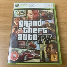 Grand theft auto 4 IV GTA 4 XBOX 360 complet  belle condition PAL