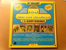 """6 X LP BOX 12"""" / 120 SUPER OLDIES - VOLUME 1 (LITTLE RICHARD, PLATTERS, ANGELS)"""