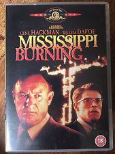 Gene Hackman MISSISSIPPI BURNING Civil Rights Classic Ku Klux Klan Drama DVD