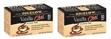 Bigelow Vanilla Chai Black Tea Bags 2 Box Pack