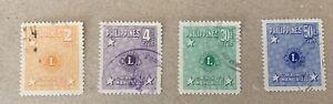 Philippines Sg 691/694 F/U Cat £5,90