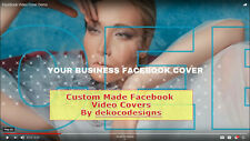 Custom Made Full HD Quality Facebook Page Cover Video For Your Brand,  Business