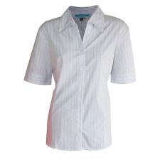 Polyester Formal Short Sleeve Tops & Blouses for Women
