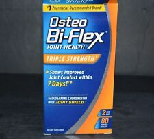 OSTEO BI-FLEX JOINT HEALTH TRIPLE STRENGTH (80 COATED TABLETS) EXP-2021+