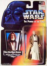 Star Wars - POTF - Ben (Obi-Wan) Kenobi - Orange Card - New - MOC