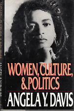 Women, Culture, and Politics - HC DJ 2nd Pr. 1989 -  Angela Y. Davis
