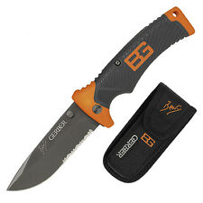 Gerber Bear Grylls + Gürteltasche TV Outdoor Wildnis Messer Einhandmesser NEU