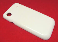 Samsung Galaxy i9000 gt-i9001 Tapa batería Tapa back cover posterior blanco