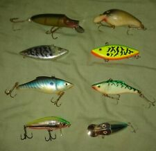 8 Fishing lures for Sea and Fresh Water, Bass Pike Perch etc.
