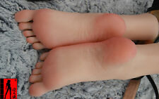 Girls Dancer Gymnast Skeleton Foot Silicone Feet Model Mannequin Lifelike