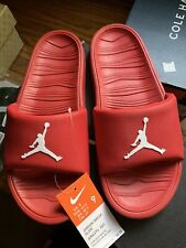 Nike Air Jordan Break Slides Sandals Slide Sandal Red AJ AR6374-601 Men's size 9