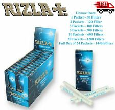 Rizla Polar Blast Menthol Extra Slim 5.7mm Filter Tips Crushball Capsule Click