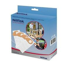 Nilfisk Original Vlies Filterbeutel Tüte 4St Buddy II Staubsaugerbeutel 81943048