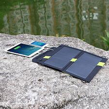 Solarpanel 5V 14W Solarladegerät solarmodule Charger faltbare für Handy Laptops