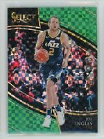 2018-19 Joe Ingles 3/5 Panini Select Mosaic Green