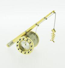 Novelty Miniature Fishing Rod Clock