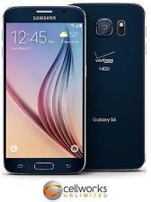 Samsung Galaxy S6 ( VERIZON ) GSM UNLOCKED G920V 32GB - Black Sapphire