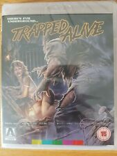 TRAPPED ALIVE blu ray dvd