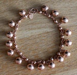 Stunning Vintage Antique Unique RARE 9ct Gold Bracelet 9.9 gr Balls Middle East