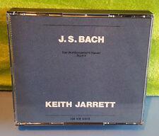 Bach: Das Wohltemperierte Klavier Buch 2 by Keith Jarrett (CD, Jul-1991, 2 Discs