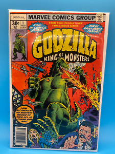 Godzilla King of the Monsters #1 August 1977