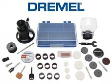 New DREMEL 36-Piece accessory kit - case, cutting guide, shield, collet, EZ-LOCK