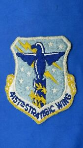 ORIGINAL USAF 4157TH STRATEGIC WING PATCH-EMBROIDERED