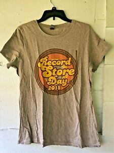 RECORD STORE DAY 2015 TEE SHIRT - CROSSLEY - WOMEN'S SIZE XL