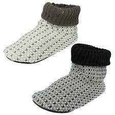 SALE MENS CLARKS KITE CUFF PULL ON WARM BOOTY WINTER LOUNGE INDOOR SLIPPERS