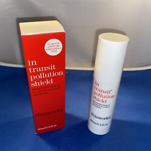 {H1} This Works In Transit Pollution Shield 60ml/2oz Toners/ Face Mist