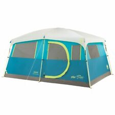 Coleman Tenaya Lake 8 Person Fast Pitch Instant Cabin Camping Tent w/ WeatherTec