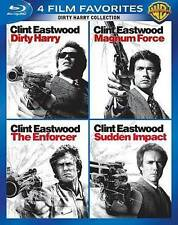 Dirty Harry Collection: 4 Film Favorites (Blu-ray Disc, WS, 4-Disc Set) NEW