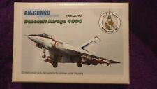 Anigrand 1:72 Dassault MIRAGE 4000 Fighter Resin Model Kit #2040 *SEALED IN BAG*