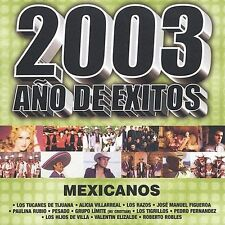 FREE US SHIP. on ANY 2 CDs! NEW CD Various Artists: 2003 Ano De Exitos Mexicanos
