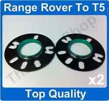 RANGE Rover per VW T5 5mm HUBCENTRIC Lega Ruota Spacer Kit di montaggio il 72,6 - 65,1