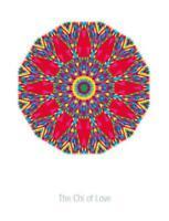 Chi of Love Buddhist Handmade DIGITAL Counted Cross-Stitch Pattern Needlepoint