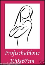 Schablone, Wandschablone, Wandschablonen, Malerschablone, Modernart, Frauenakt 5