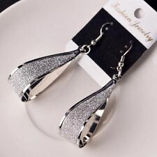 Dangle Water Silver/Gold Women Jewelry Drop Shape Hook Fashion Gift Earrings