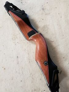 "Bear Archery  Kodiak Takedown ""A"" Riser Left Hand  Phenolic/Bubinga"